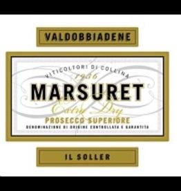 Prosecco Marsuret Prosecco Superiore Extra Dry Il Soller VAldobbiandene 750ml