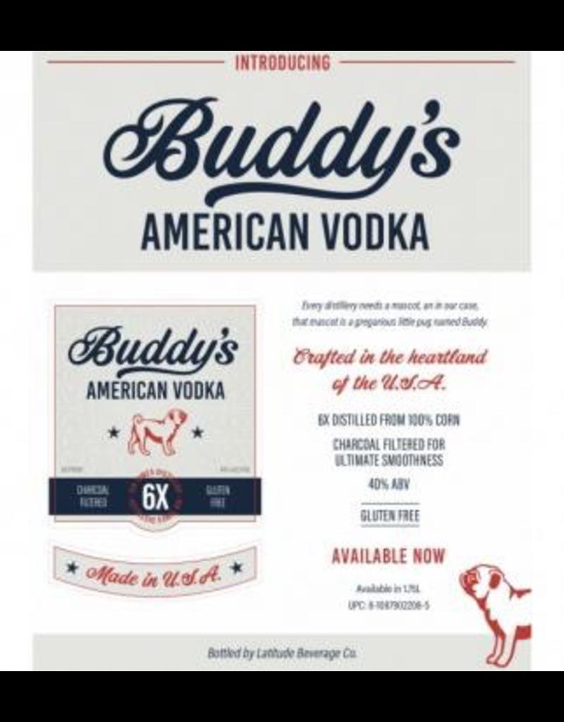 vodka Buddy's American Vodka 1.75 Liters