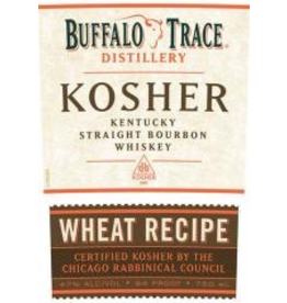 Rye Whiskey Buffalo Trace Bourbon Wheat Recipe Kosher 750ml