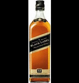 Scotch Johnnie Walker Black Label Blended Scotch Whiskey 12yr  1.75L