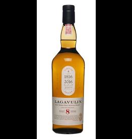 Single Malt Scotch Lagavulin 8 year Islay Single Malt Scotch Whisky 750ml