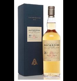 Single Malt Scotch Auchroisk Speyside 25 yr Single Malt Scotch Whisky 750ml