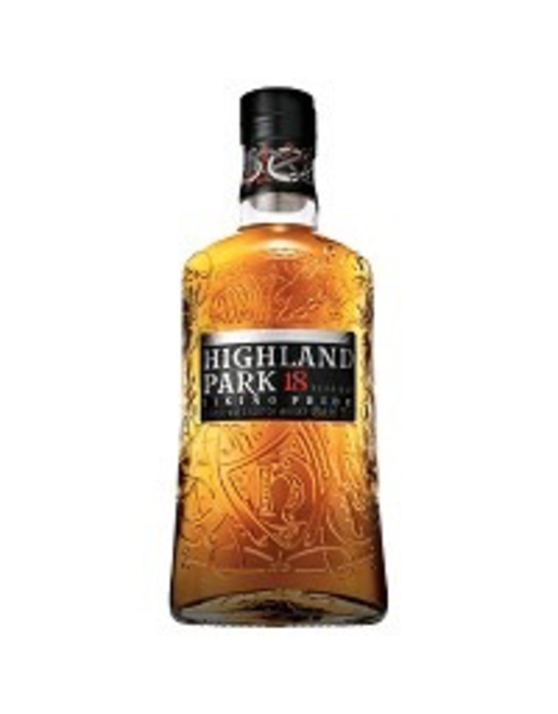 Single Malt Scotch Highland Park Viking Pride 18yr Single Malt Scotch 750ml