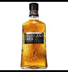 Single Malt Scotch Highland Park 12 yr Viking Honour Single Malt Scotch Whisky 750ml