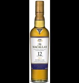 Single Malt Scotch Macallan Double Cask 12 Year Old Single Malt Scotch 750ml