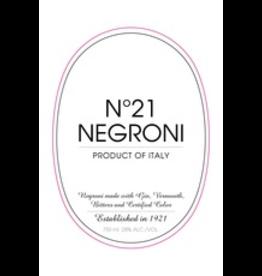 Premade Cocktails No21 Negroni 750ml