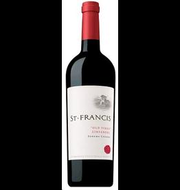 Zinfandel St Francis Old Vines Zinfandel 2018 750ml