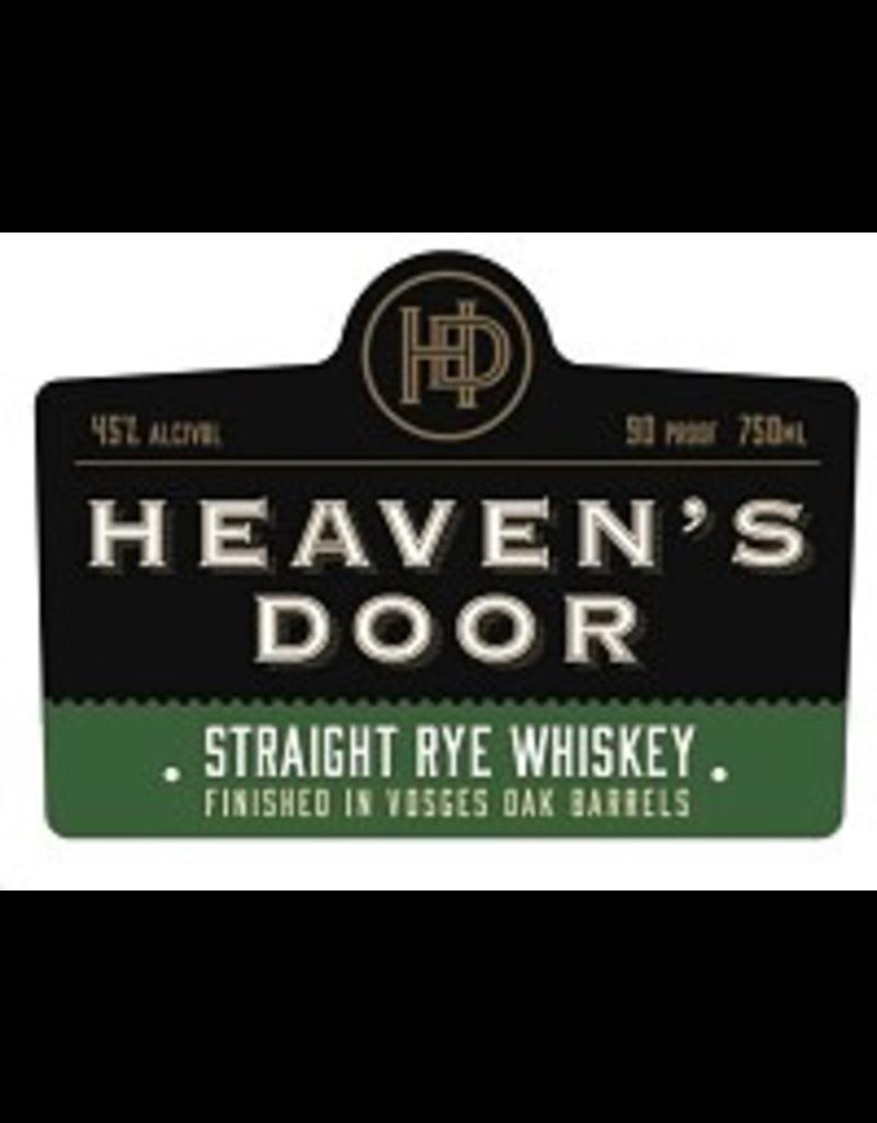 Rye Whiskey Heaven's Door Straight Rye Whiskey 750ml