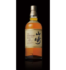 Japanese Whisky The Yamazaki 12 yr Single Malt Whisky 750ml