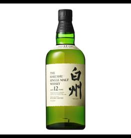 Japanese Whisky The Hakushu Single Malt Japanese Whisky 12 Year Old 750ml
