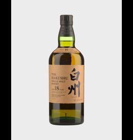Japanese Whisky The Hakushu Single Malt Japanese Whisky 18 Year Old 750ml