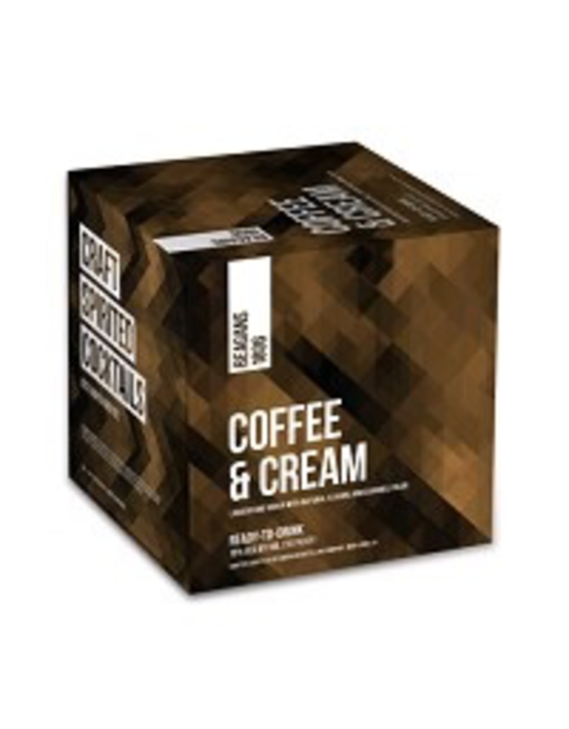CAN MIXED DRINK Beagans Coffee & Cream Cans 4Pack 200ml