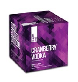CAN MIXED DRINK Beagans Cranberry Vodka Cans 4Pack 200ml