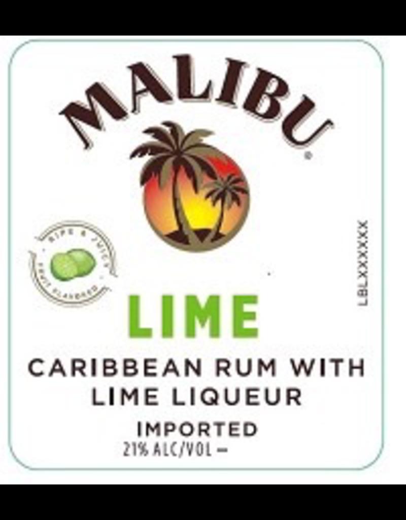 rum Malibu Lime Rum Liter