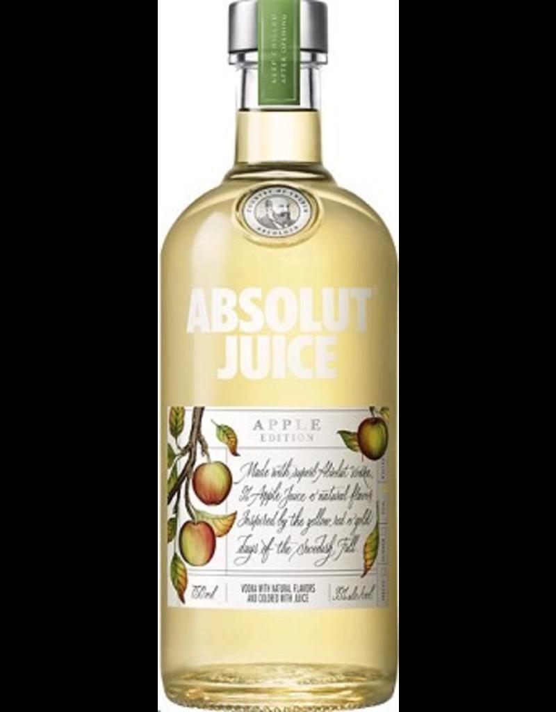 vodka Absolut Vodka Apple Juice Edition   Liter