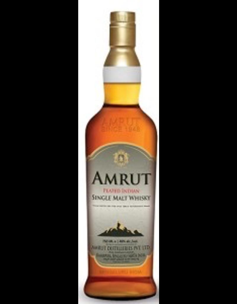 Indian Whisky Amrut Single Malt Whisky Peated India 750ml