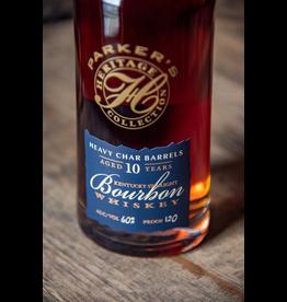 Bourbon Whiskey Parker's Heritage Bourbon 10 Year Heavy Char Barrels 120 proof 750ml