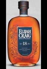 Bourbon Whiskey Elijah Craig Single Barrel 18 Year Old Bourbon 750ml