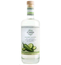 Tequila 21 Seeds Cucumber Jalapeno Tequila 750ml