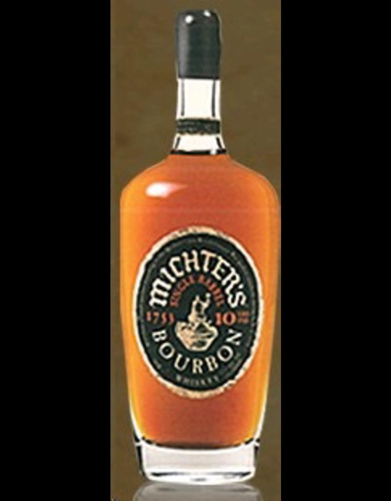 Bourbon Whiskey Michter's 10 yr old Single Barrrel Kentucky Straight Bourbon Whiskey 750ml