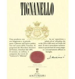 Tuscan Red SALE Antinori Tignanello 2018 REG $179.99