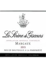BORDEAUX-MARGAUX Chateau Giscours Margaux 2016