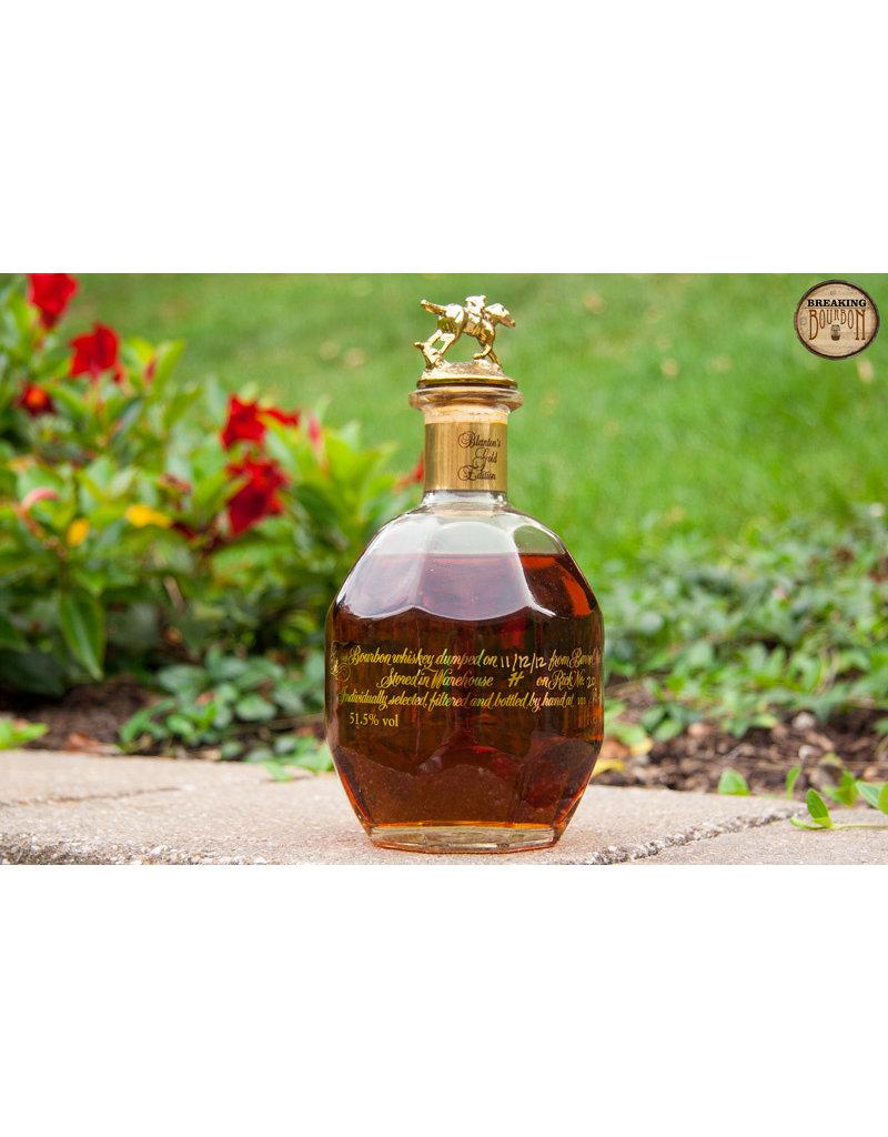 Bourbon Whiskey Blanton's Gold Edition 750ml