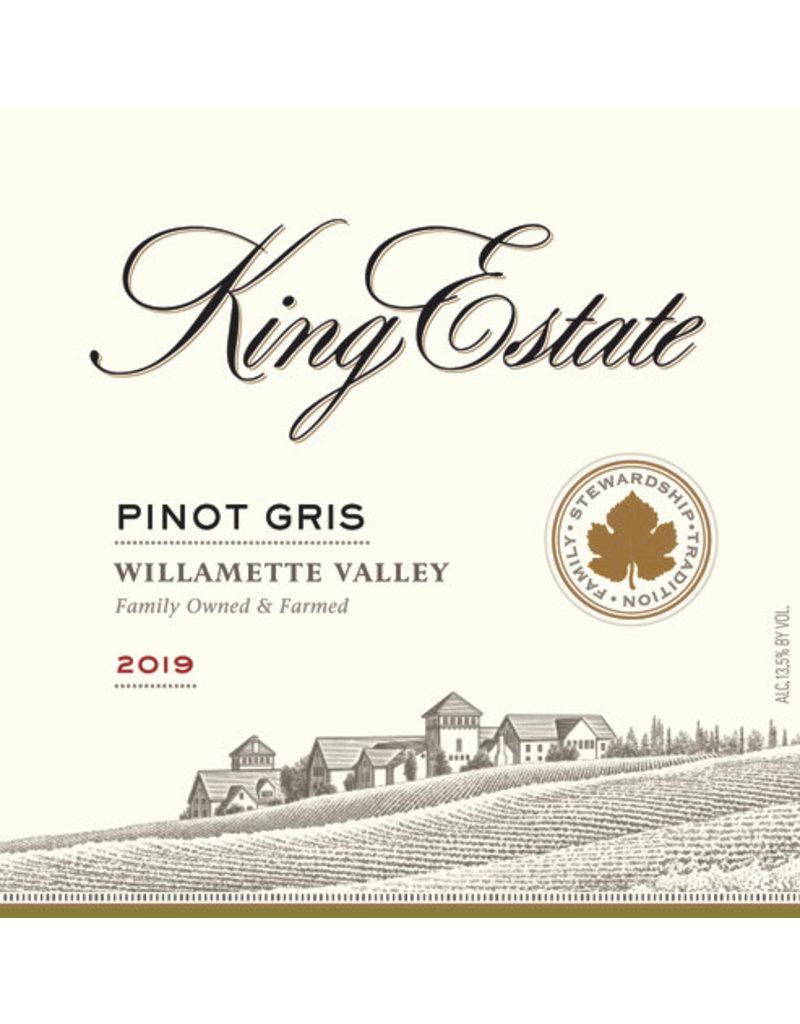 Pinot Gris King Estate Pinot Gris Willamette Valley 2019 750ml