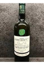 BORDEAUX BLANC Chateau Des Gravieres Blanc Graves 2018 750ml