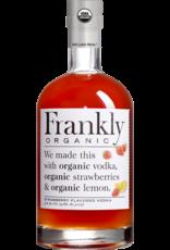 vodka Frankly Organic Strawberry Vodka Liters