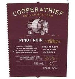 Pinot Noir Cooper & Thief Pinot Noir Cellar Master Select 750ml