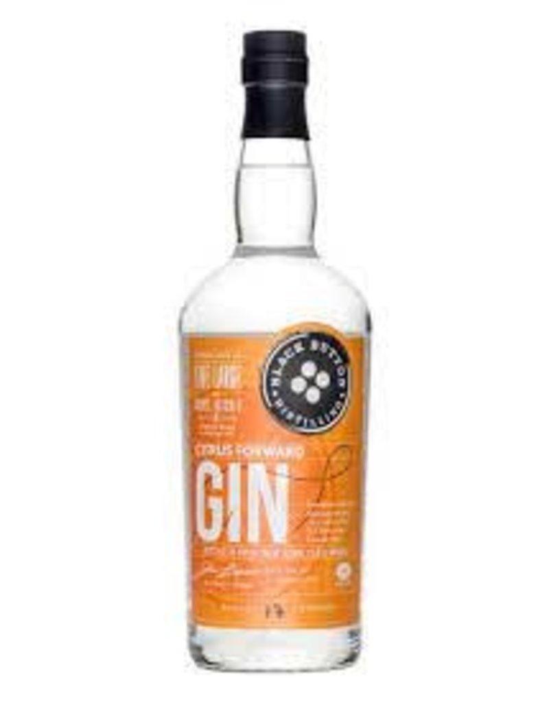 Gin Black Button Citrus Gin 750mL