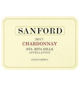 Chardonnay California SALE Sanford Sta. Rita Hills Chardonnay 2017 750ml REG $49.99