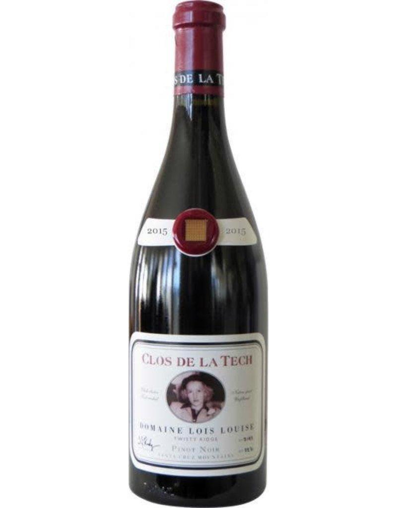 Pinot Noir California SALE Clos de la Tech Pinot Noir Domaine Lois Louise Twisty Ridge 2014 Santa Cruz mountain 2014 750ml REG $89.99