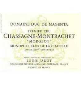 """Burgundy French Jadot Chassagne Montrachet Dom. Duc De Magenta """"Morgeot"""" 2019 Monopole Clos De La Chapelle Premier cru 750ml"""