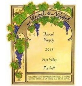 Merlot Nickel & Nickel Merlot Suscol Ranch 2017 750ml