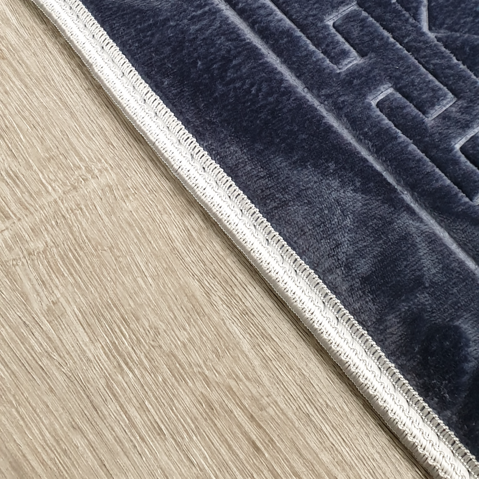 Nasiba Fashion Steel Blue Prayer Mat