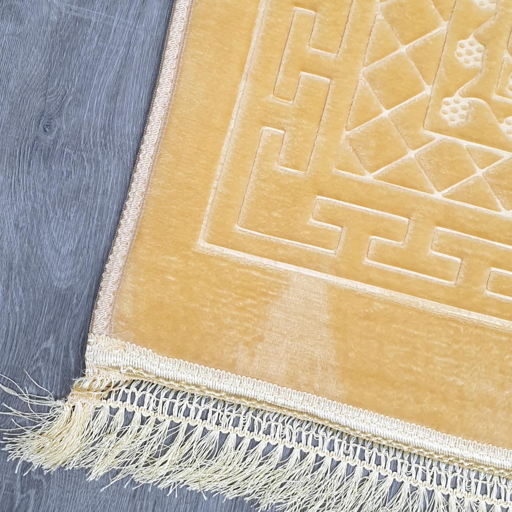 Nasiba Fashion Royal Yellow Prayer Mat