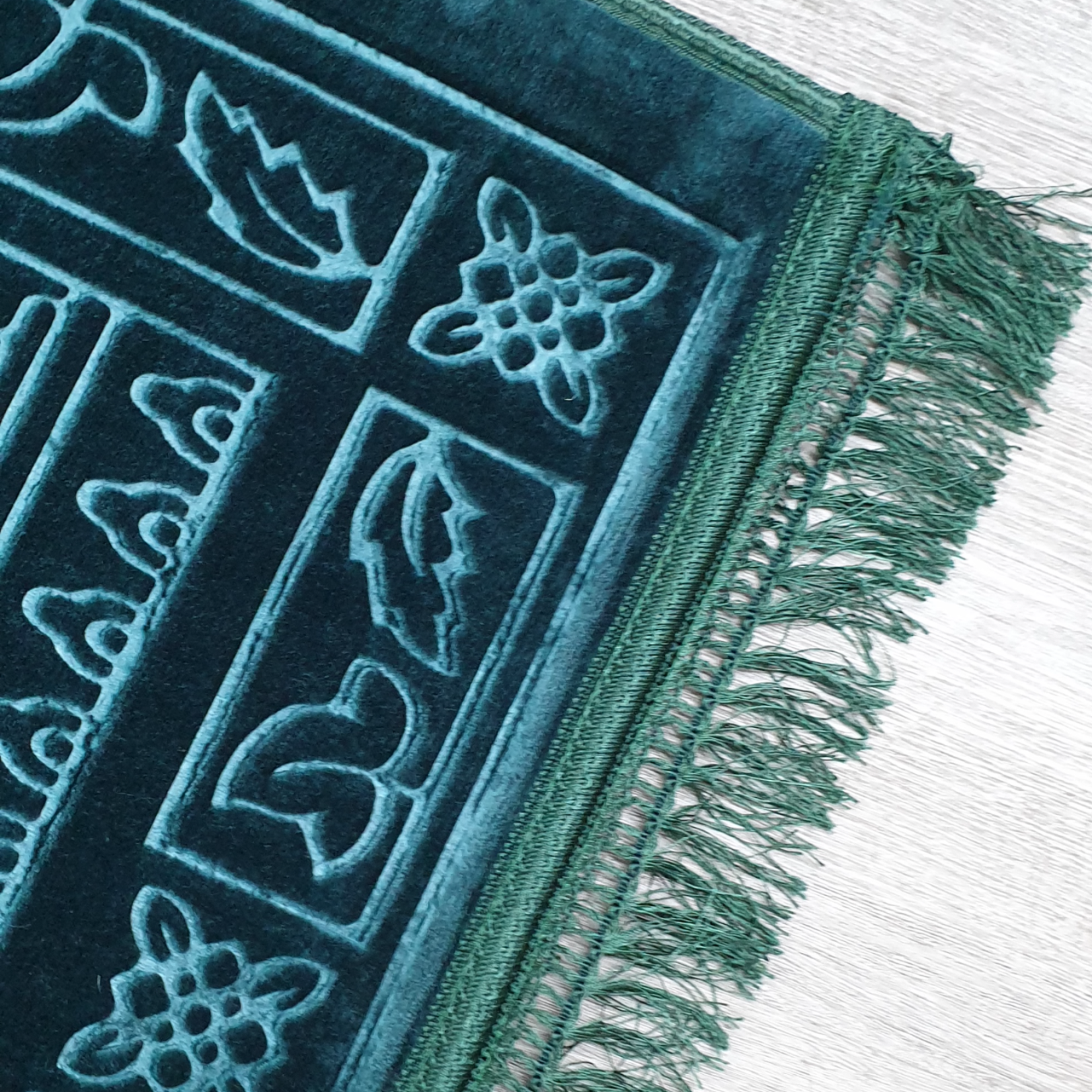 Nasiba Fashion Turkish Blue Prayer Mat