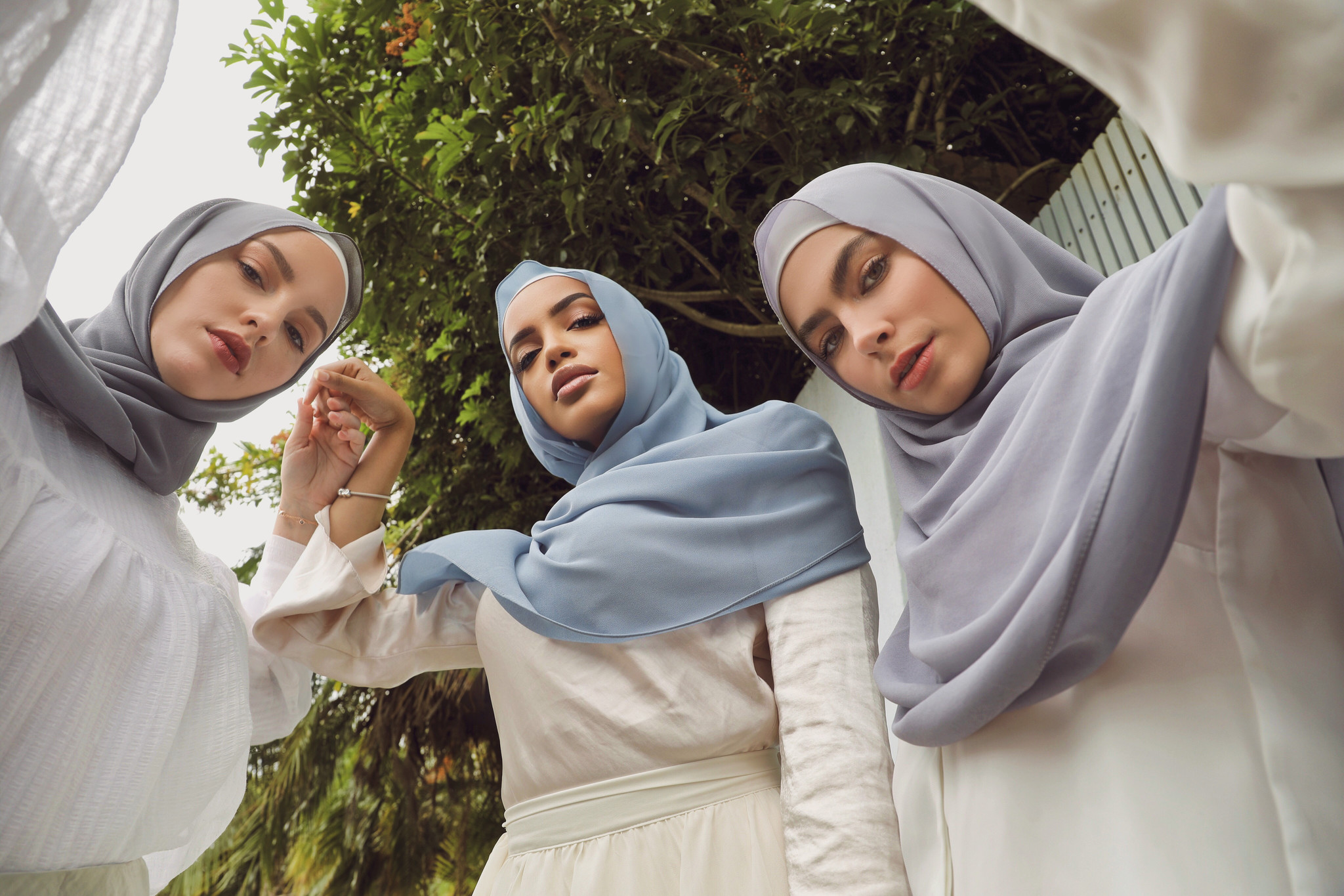 Picture of 3 women in Nasiba Fashions hijabs