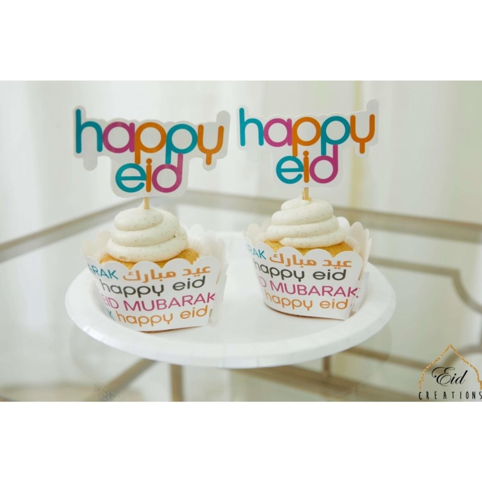 Eid Creations Cupcake Wrapper Set