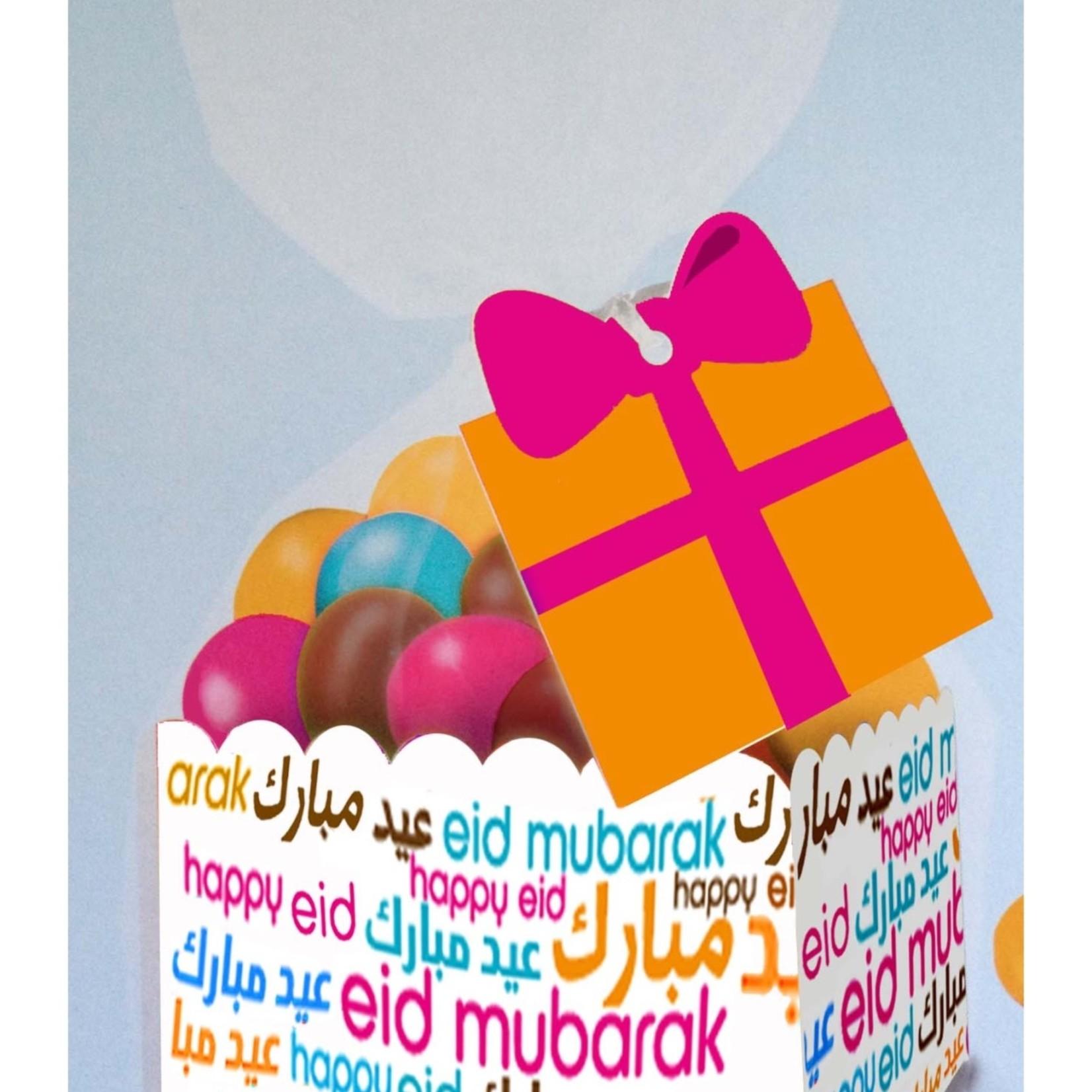 Eid Creations Eid Font Favor Boxes