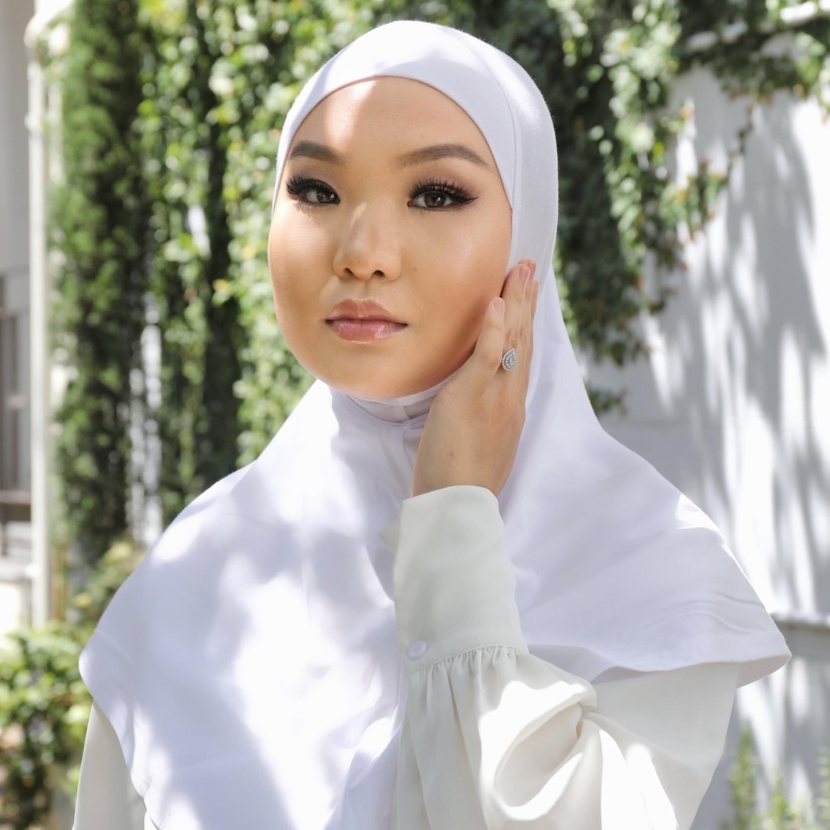 Nasiba Fashion 1pc Hijab White (C)