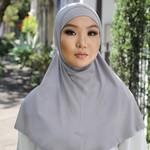 Nasiba Fashion 2pc Hijab Trout (J)