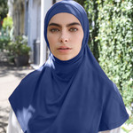 Nasiba Fashion 2pc Hijab Navy (J)