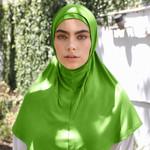 Nasiba Fashion 2pc Hijab Jasmine green (J)