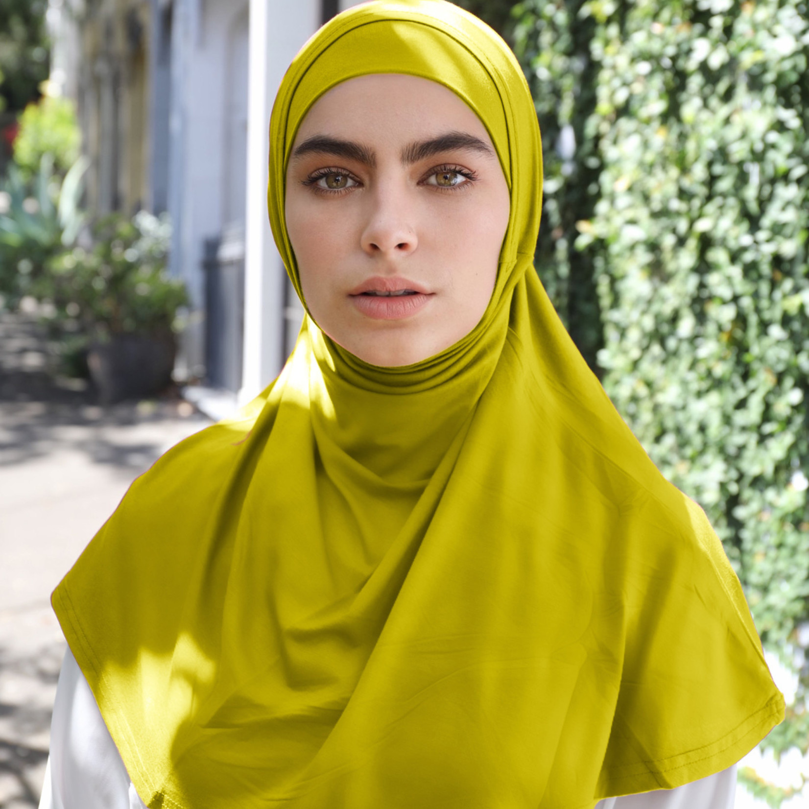 Nasiba Fashion 2pc Hijab Mustard (J)