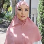 Nasiba Fashion 1pc Hijab Blushing girl (J)