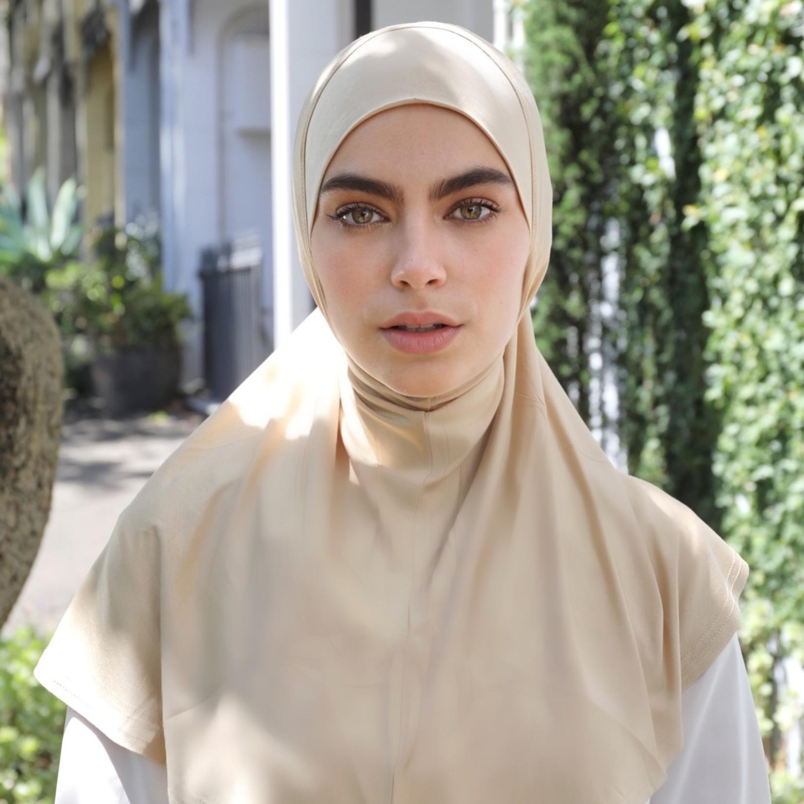 Nasiba Fashion 1pc Hijab Flax (J)