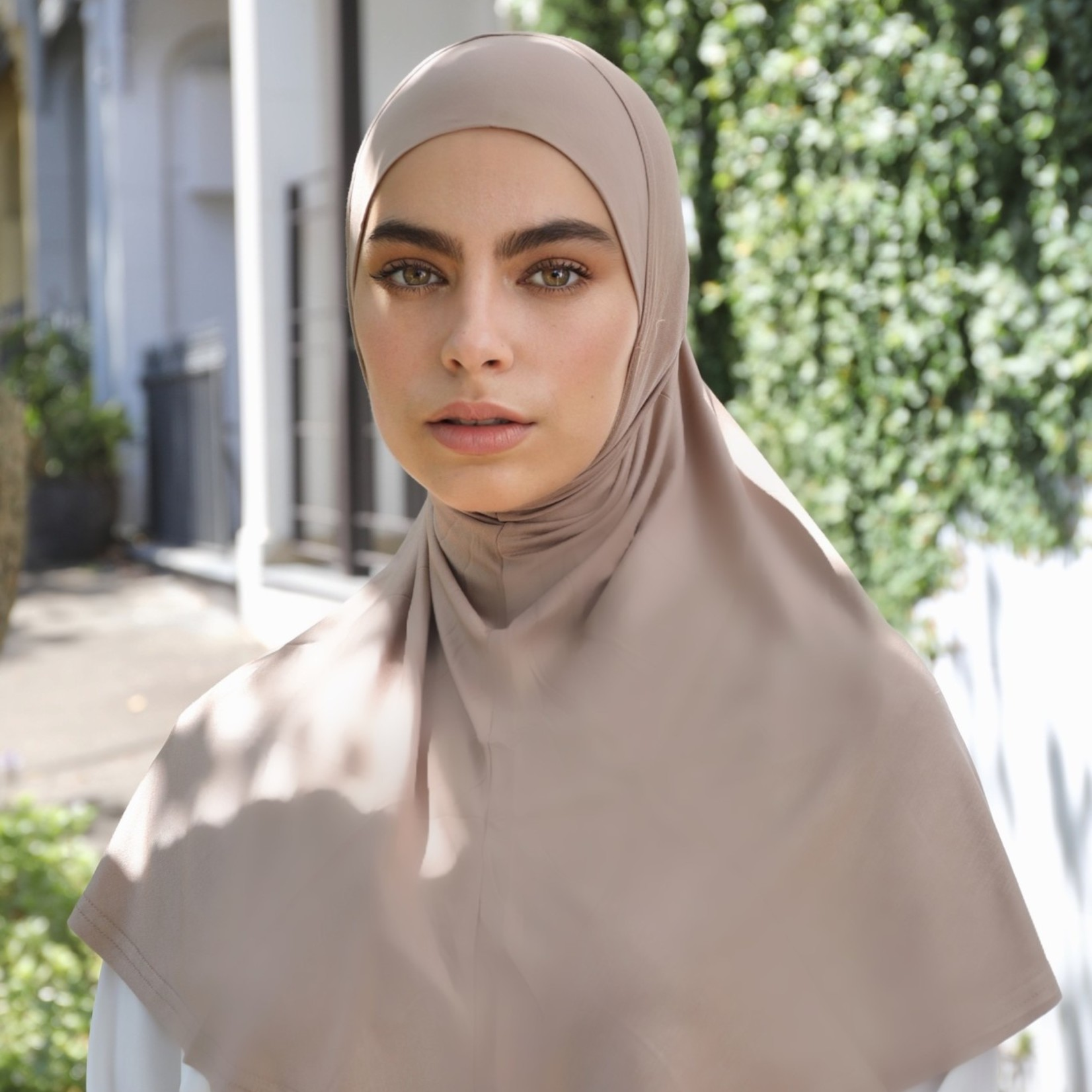 Nasiba Fashion 1pc Hijab Earthy nude (J)